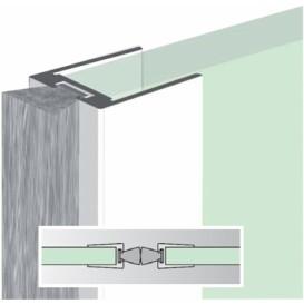 Ειδικό αεροστόπ για την περιμετρική προστασία γυάλινων πορτών