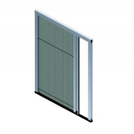 Σήτα πλισέ για πόρτα και παράθυρο Gioconda μονόφυλλη 22mm(κομμένη στις ακριβές διαστάσεις που θα μας ζητήσετε )