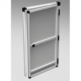 Insect screen for door, cut-to-measure-assembled