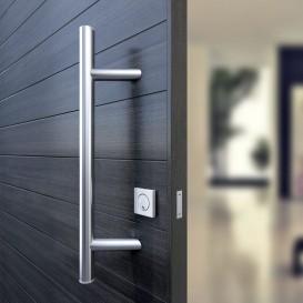 Ίσια ανοξείδωτη λαβή πόρτας INOX-145 L500