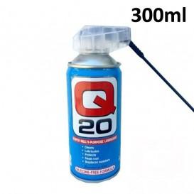 Q20 λάδι 300ml λιπαντικό σπρέι κατά της υγρασίας με ειδική βαλβίδα
