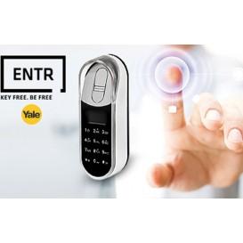 Ασύρματο ηλεκτρονικό αριθμητικό πληκτρολόγιο με δακτυλικό αποτύπωμα για κλειδαριά ENTR