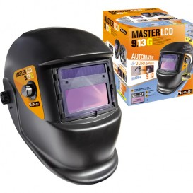 AUTOMATIC ELECTRONIC ELECTRIC WELDING MASKS  WITH 2 PHYSOSPHOTOURERS GYS LCD Master 9-13