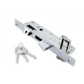 Κλειδαριά ασφαλείας DOMUS για πόρτες αλουμινίου (30-35mm) μαχαιρωτή