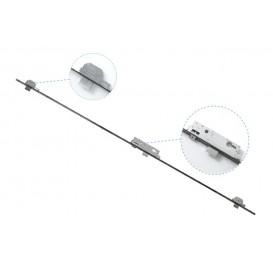 Γραναζωτή κλειδαριά ασφαλείας τριών κλειδωμάτων DOMUS 35mm για πόρτες αλουμινίου TOPGEAR3