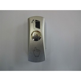 Button of the electric system for automatic blocking of central entrance to building-apartment buildings