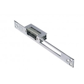 Electric lock (mirrored) DOMUS hinged aluminum and wood