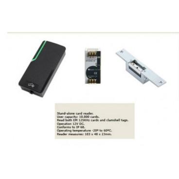 Aυτόνομο ανοιγόμενο σύστημα με κάρτα 6800.