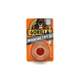 Self-adhesive Gorilla double-sided adhesive tape with a width of 25.4 mm length1.52 meters