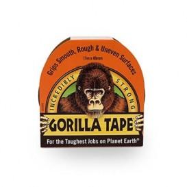 Αυτοκόλλητη ταινία Gorilla ενισχυμένη με ύφασμα αντοχής σε αέρα - νερό - θερμοκρασία αδιάβροχη 48mm*11 m