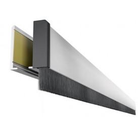 Αεροστόπ για ανοιγόμενες γυάλινες πόρτες GLASS BRUSH