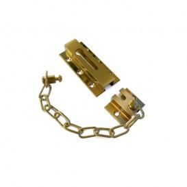 Safety Chain Flat Brass