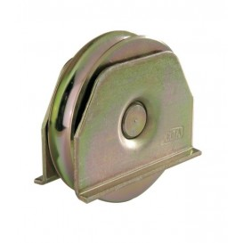 Ράουλο με πλαϊνή βάση ένα ρουλεμάν στρογγυλό προφίλ
