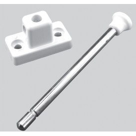 Safety pistons for sliding doors and windows