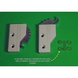 Ασφάλεια για συρόμενες πόρτες και παράθυρα αλουμινίου παλαιού τύπου (τιγράκι)