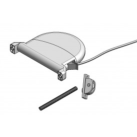 Mechanism of PVC cord reels & spring