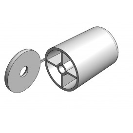 PVC outer stopper