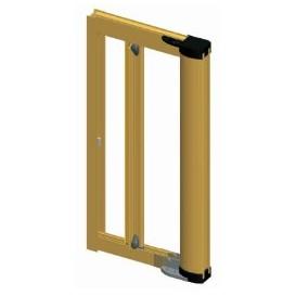 Σήτα κουνουπιέρα οριζόντιας κίνησης για πόρτα μονόφυλλη 150cm X 220cm