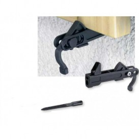 Metal automatic stop bracket for shutter